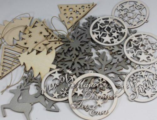 Drvene božićne dekoracije