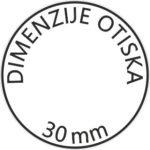 Pečat dimenzije