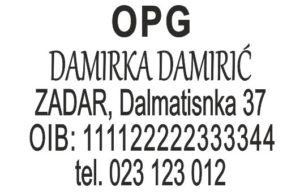 Pečat za OPG