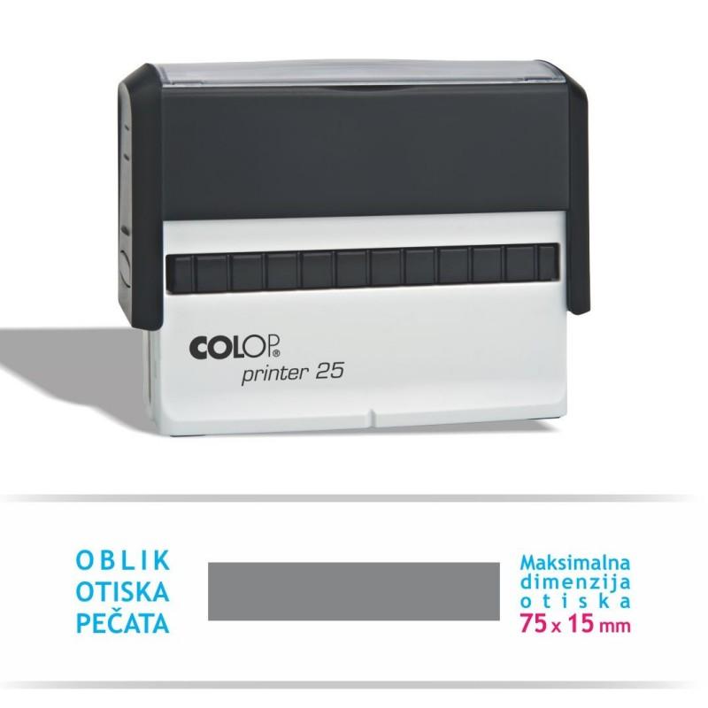 Pečat printer 25