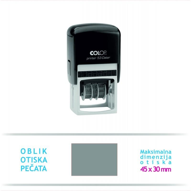 Pečat Printer 53 Datumar