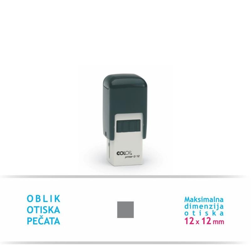 Pečat Printer Q 12