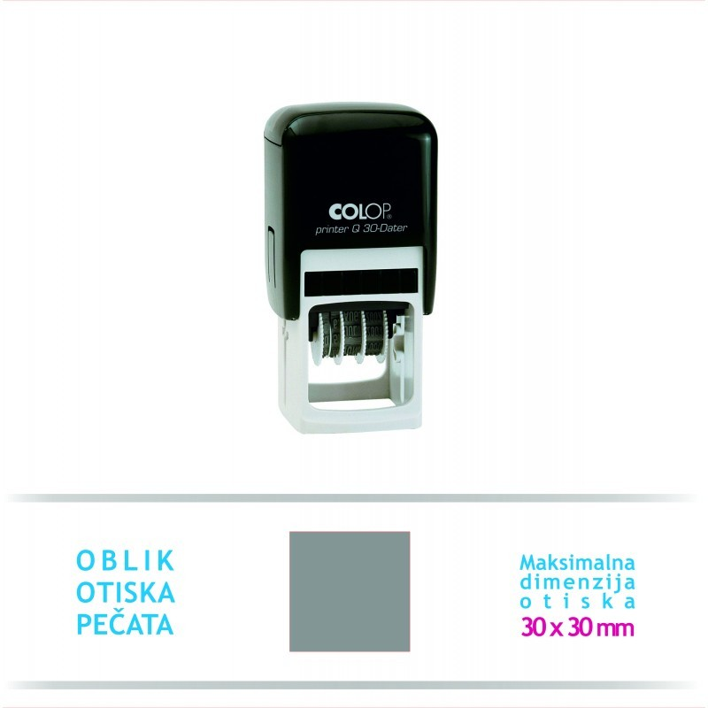 Pečat Printer Q 30 Datumar