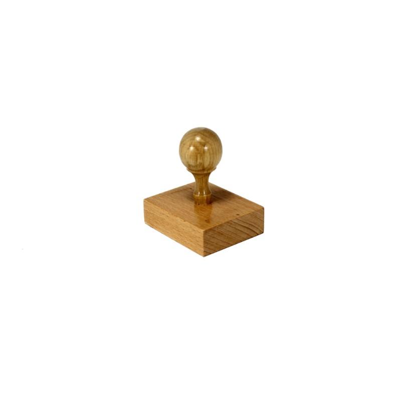 Pečat sa drvenom drškom veći (iznad 10 cm2)